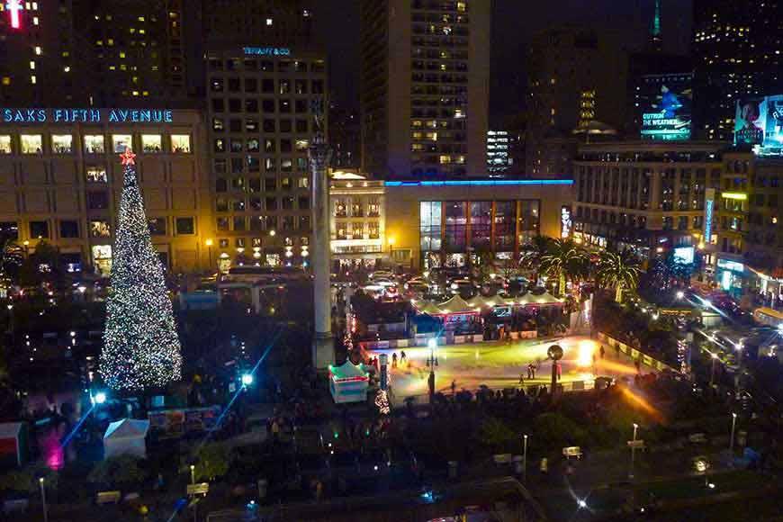 Union Square Christmas Tree Lighting 2019
