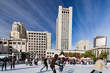 Union Square Ice Skaters