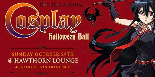 Cosplay Halloween Ball