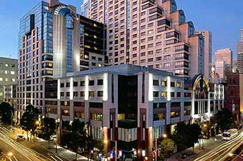 Hotels & Lodging near Union Square in San Francisco.