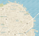 Map of San Francisco's Shopping Districts