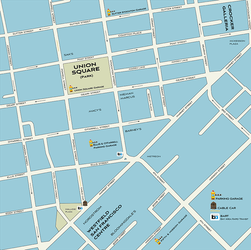 Union Square Map