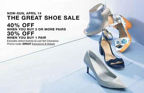 15ec1253b657 Macy s Great Shoe Sale