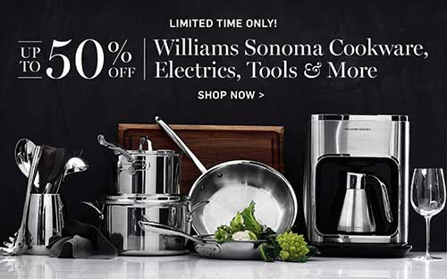 Sale from Williams-Sonoma