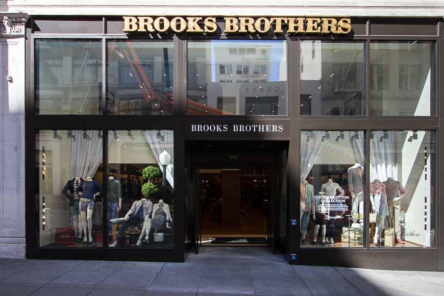 Brooks Brothers | Men's, Women's & Kids Apparel | Union Square