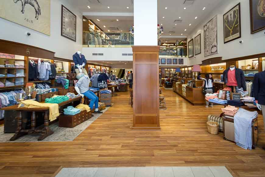 Brooks Brothers Factory Store at Seattle Premium Outlets ...