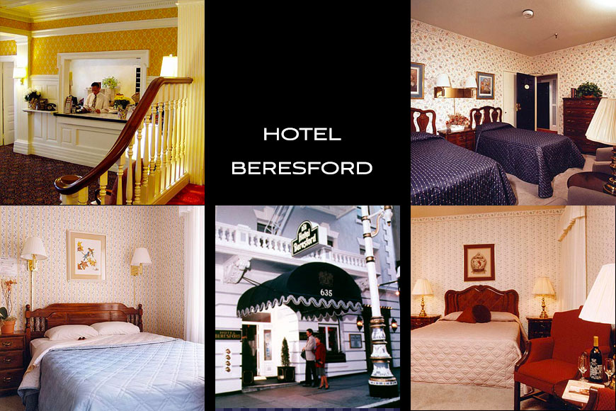 Hotel Beresford Located In The Union Square Shopping District