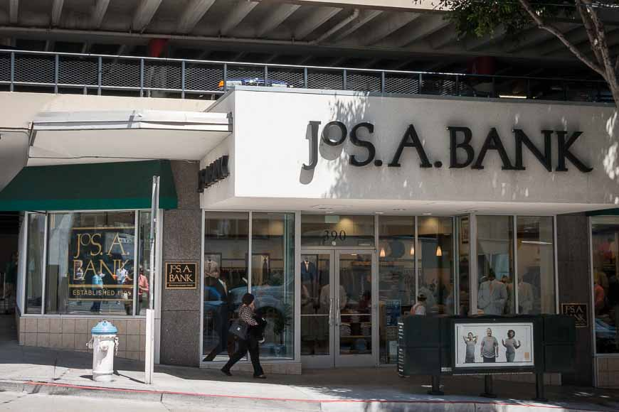 North Park Lincoln >> Jos. A. Bank   Men's Clothing   Union Square - San Francisco