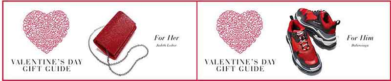 Valentine's Day Gift Guide for HER Saks Fifth Avenue